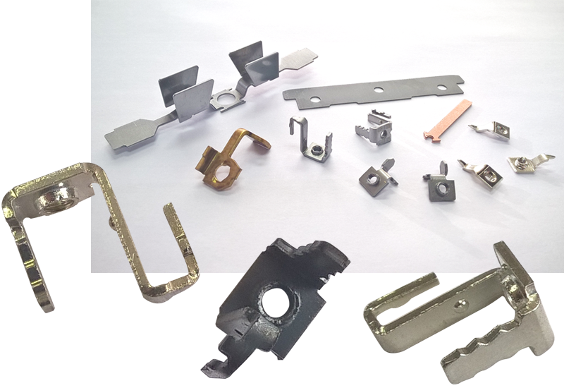 Small cutting and bending parts: